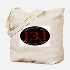 13.1 - Half the Distance Tote Bag