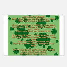 An Irishmans Philosophy Postcards (Package of 8)
