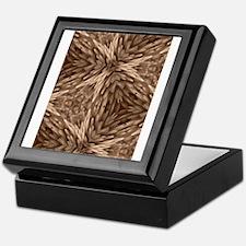Kaleidoscope Psychadelics #1 Feather Keepsake Box