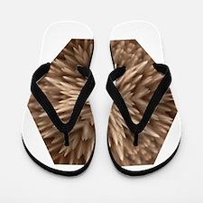 Psychedelics #1 Feather Flip Flops