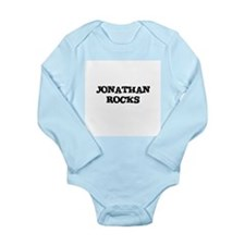 Unique Jonathan Long Sleeve Infant Bodysuit