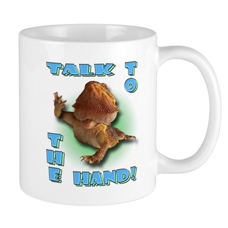 Bearded Dragon - Talk To The Mug
