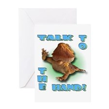 Bearded Dragon - Talk To The Greeting Card