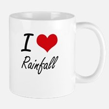 I Love Rainfall Mugs