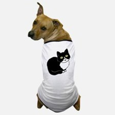 Tuxedo Cat Tuxie Dog T-Shirt