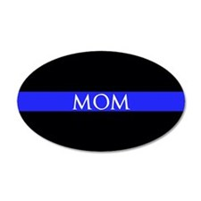 Police Mom Wall Decal