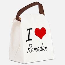 I Love Ramadan Canvas Lunch Bag