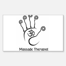 Cute Massage therapist Decal