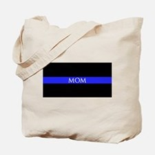Police Mom Tote Bag