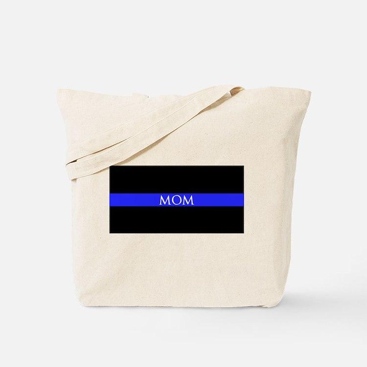Police Mom Tote Bag