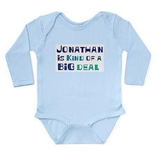 Unique Jonathan Long Sleeve Infant Bodysuit
