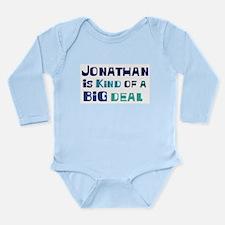 Kind big deal Long Sleeve Infant Bodysuit