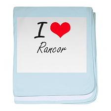 I Love Rancor baby blanket