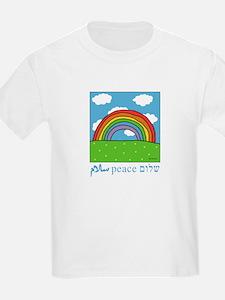 Peace Shalom Salaam Kids T-Shirt