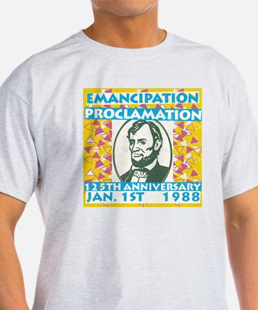 President Lincoln Emancipation Vinta T-Shirt