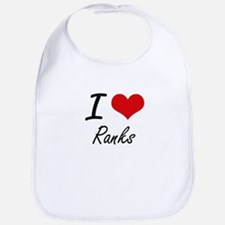 I Love Ranks Bib