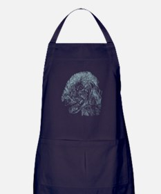 Bedlington Terrier Apron (dark)