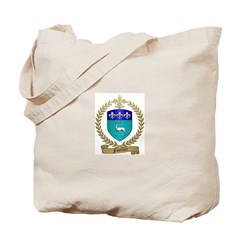 FUSELIER Family Crest Tote Bag