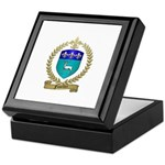 FUSELIER Family Crest Keepsake Box