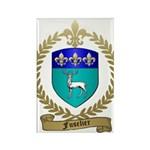 FUSELIER Family Crest Rectangle Magnet