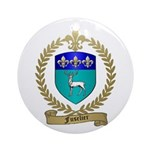 FUSELIER Family Crest Ornament (Round)
