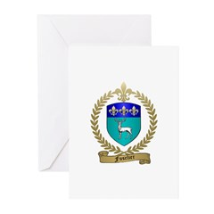 FUSELIER Family Crest Greeting Cards (Pk of 10)
