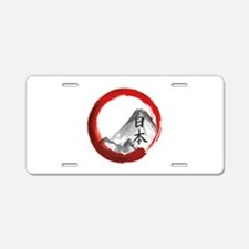 Mount Fuji Aluminum License Plate
