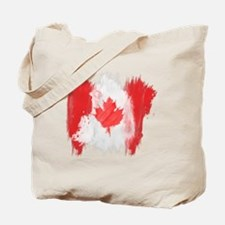 Canada Flag Canadian Tote Bag