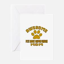 Awesome Petit Basset Griffon Vendeen Greeting Card