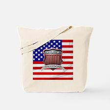 USA Shield Tote Bag