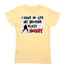 Cute Hockey Girl's Tee