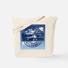 Retro Aviation Art Tote Bag