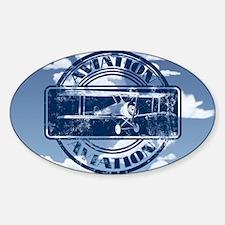 Retro Aviation Art Decal