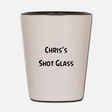 CHRIS Shot Glass