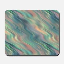 Blue Waves Pattern Mousepad