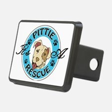 It's A Pittie Rescue Hitch Cover