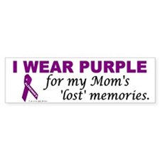 My Mom's Lost Memories Bumper Bumper Sticker