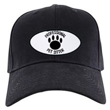 Professional Pet Sitter Paw Print Baseball Hat