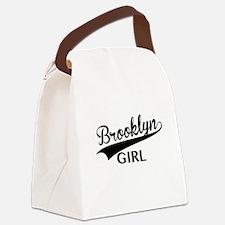 Cute Brooklyn Canvas Lunch Bag