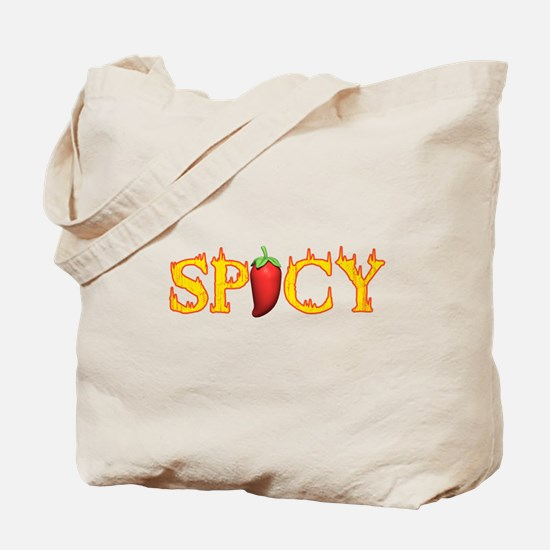 Spicy Hot Tote Bag