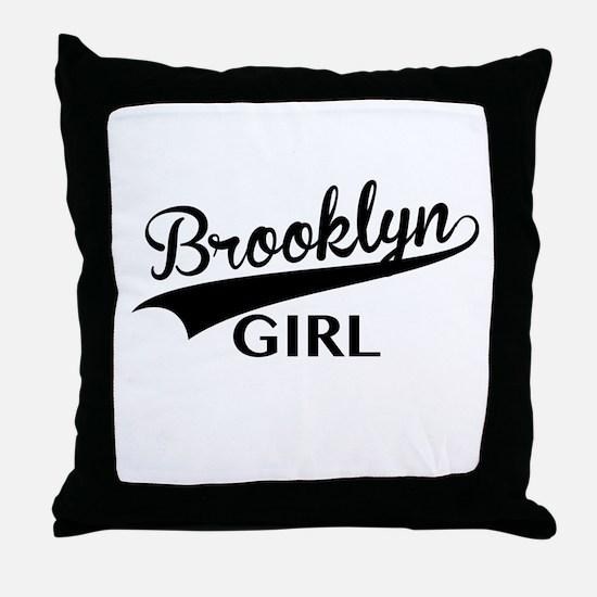 Unique Brooklyn Throw Pillow