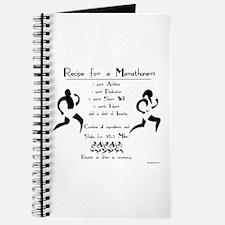 Recipe for a Marathoner Journal