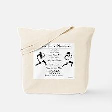 Recipe for a Marathoner Tote Bag