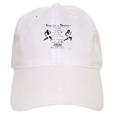 Recipe for a Marathoner Baseball Cap