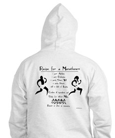 Recipe for a Marathoner Hoodie