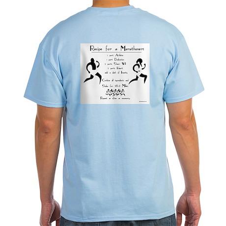 Recipe for a Marathoner Light T-Shirt