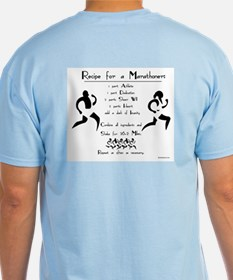 Recipe for a Marathoner T-Shirt