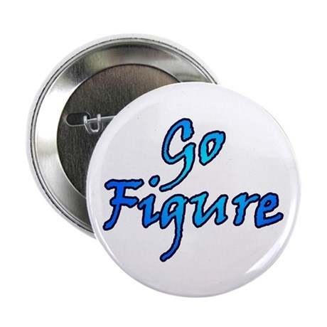 """Go Figure Skating 2.25"""" Button (100 pack)"""