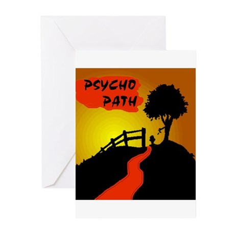 PSYCHO PATH Greeting Cards (Pk of 20)