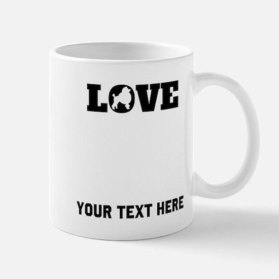 Poodle Love (Custom) Mugs
